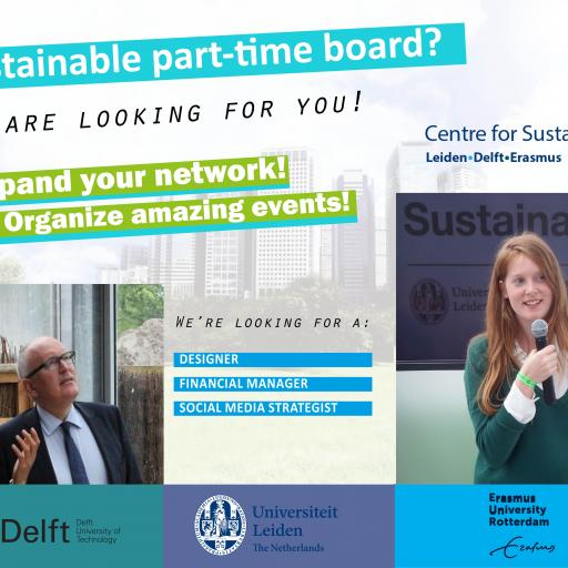 Centre for Sustainability Student Community is recruiting!