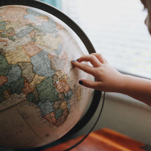Globe. Picture by: Amy Humphries. Source: Unsplash.